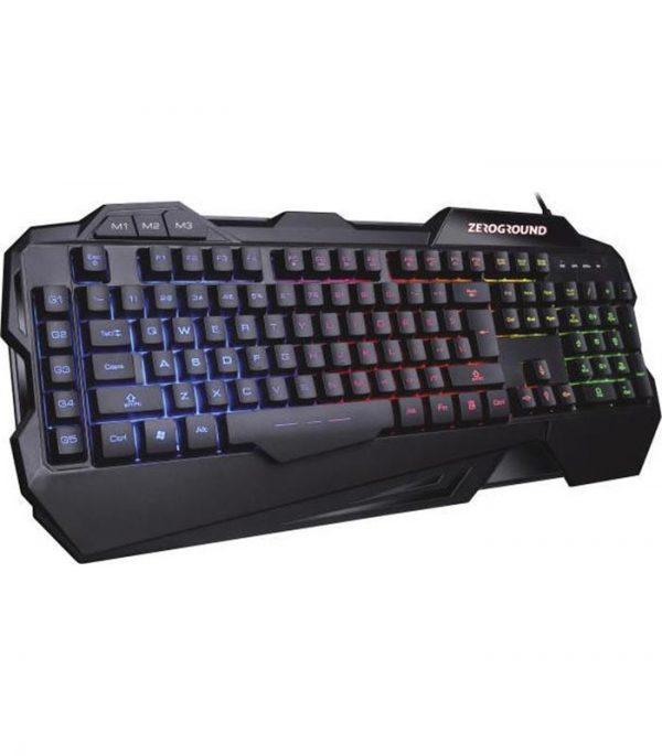 Zeroground KB-2500G HANZO v2.0 Gaming Ενσύρματο Μηχανικό Πληκτρολόγιο RGB