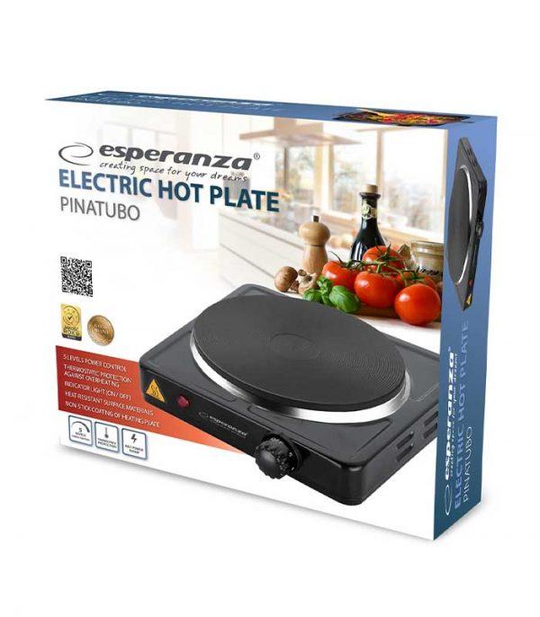 Esperanza EKH002K Pinatubo Ηλεκτρικό Μάτι Κουζίνας - Μαύρο