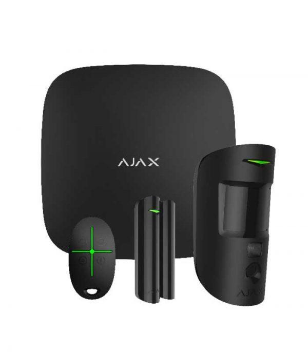 Ajax Systems StarterKit Cam Ασύρματο Σύστημα Συναγερμού – Μαύρο